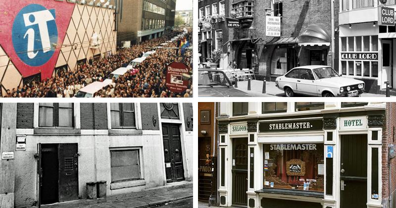 Geschiedenis van de Amsterdamse homohoreca