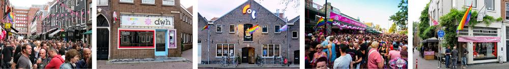 Homozaken in Nederlandse steden