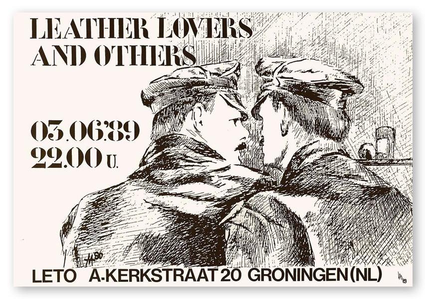Poster van de Leto in Groningen